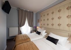 호텔 드 벨리뷰 - 파리 - 침실