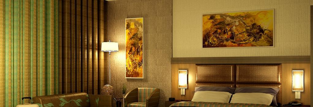 다낫 캐피탈 호텔 - 아부다비 - 침실