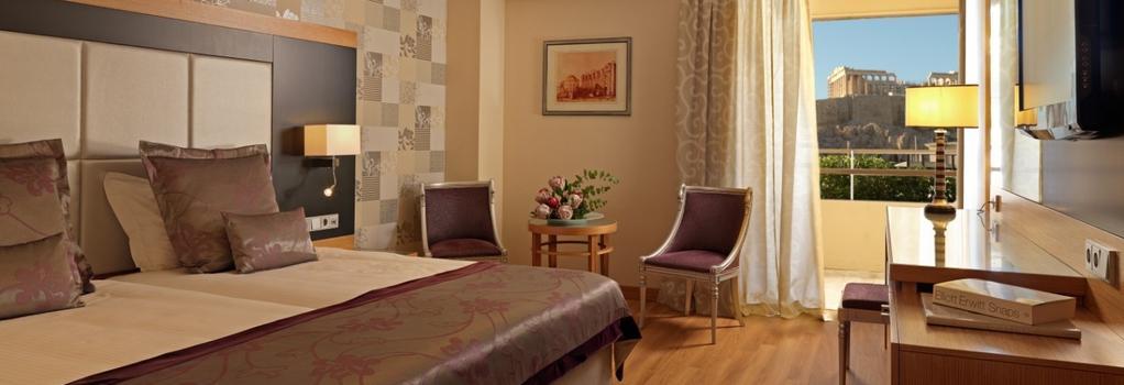 디바니 팰리스 아크로폴리스 호텔 - 아테네 - 침실