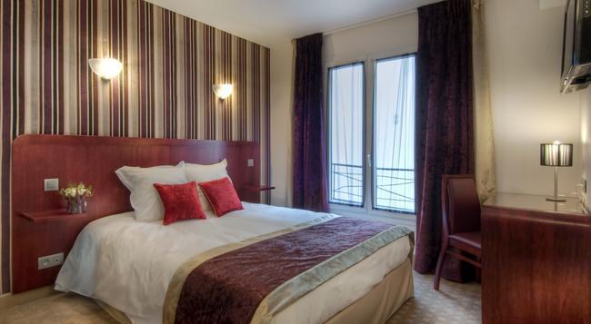 호텔 오페라 당탱 - 파리 - 침실