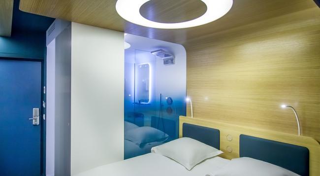 호텔 오디세이 파리 바이 엘레강시아 - 파리 - 침실