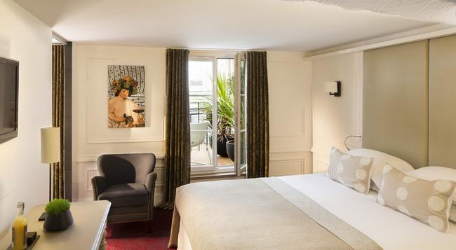호텔 몰리에르 - 파리 - 침실
