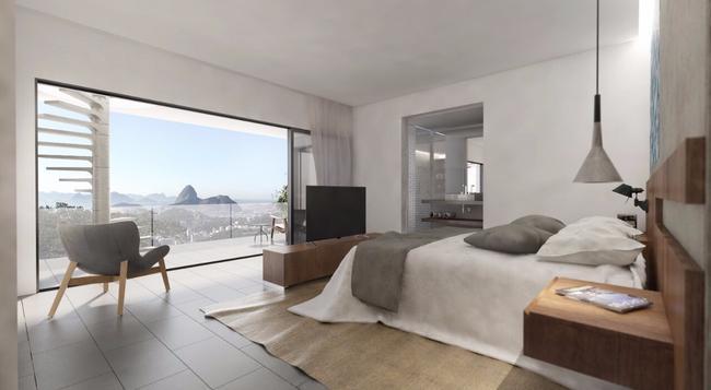 Casa Marques Santa Teresa - 리우데자네이루 - 침실