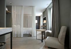 히든 호텔 바이 엘레강시아 - 파리 - 침실