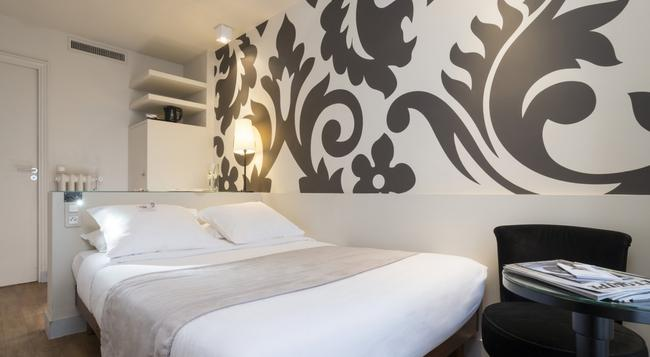 Hôtel Bastille - 파리 - 침실