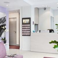 에덴 마젠타 호텔 파리 Reception