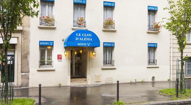 호텔 클로스 디'알레시아 - 파리 - 건물