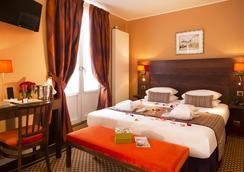 호텔 데 아르 몽마르트르 - 파리 - 침실
