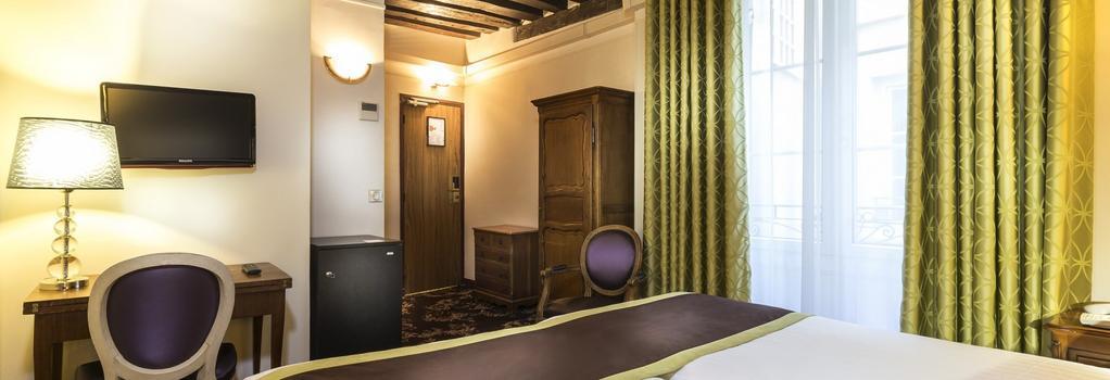 호텔 크리스탈 - 파리 - 침실