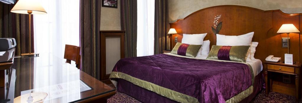 호텔 무구에트 - 파리 - 침실