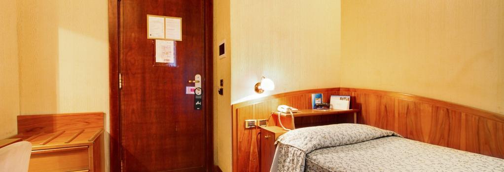 코로트 호텔 - 로마 - 침실