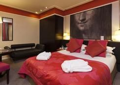 호텔 레 샤플랑 리브 고취 호텔 - 파리 - 침실