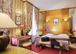 호텔 드 플뤠리 - 파리 - 침실