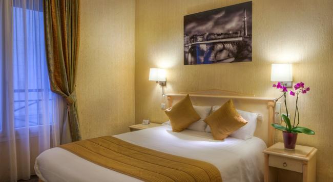 호텔 루브르 생트안 - 파리 - 침실
