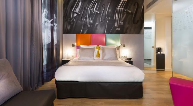리릭 호텔 파리 - 파리 - 침실