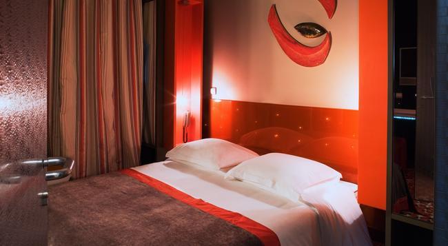 더 파이브 호텔 바이 엘레강시아 - 파리 - 침실