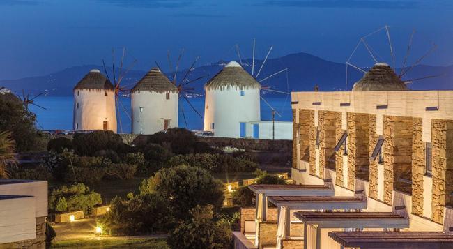 미코노스 테오세니아 - 미코노스섬 - 건물