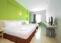 테마섹 호텔 - 멜라카 - 침실