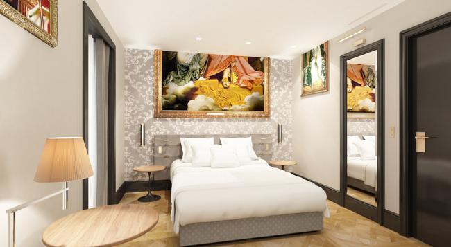 호텔 에펠 프티 루브르 - 파리 - 침실