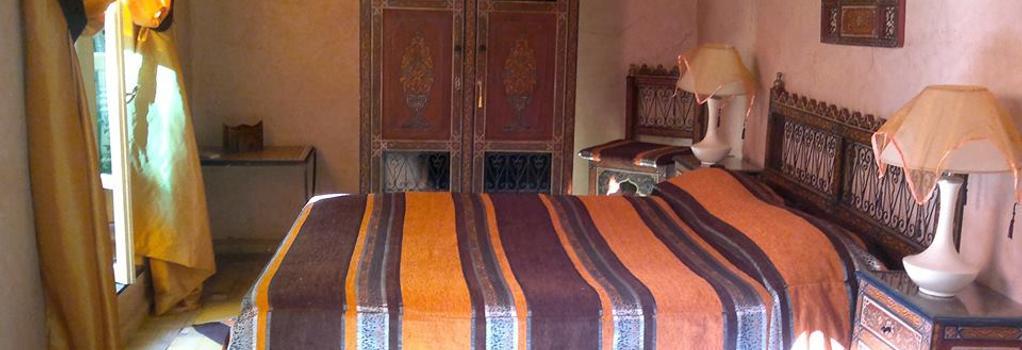Riad Habib - 마라케시 - 침실