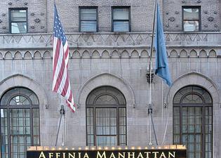 맨해튼 NYC - 아피니아 호텔