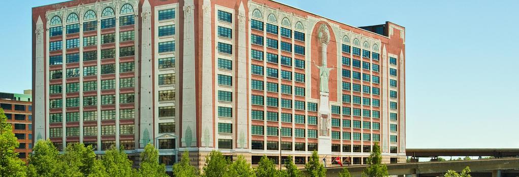 St. Louis City Center Hotel - 세인트루이스 - 침실