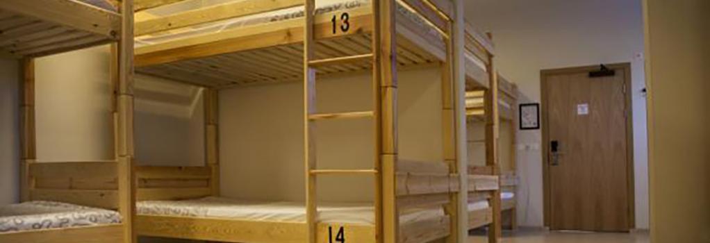 버스 호스텔 - 레이캬비크 - 침실