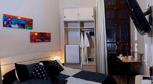 아마블레 부에노스 아이레스 호스텔 부티크 - 부에노스아이레스 - 침실