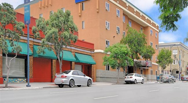 컴포트 인 가스램프 호텔 - 샌디에이고 - 건물