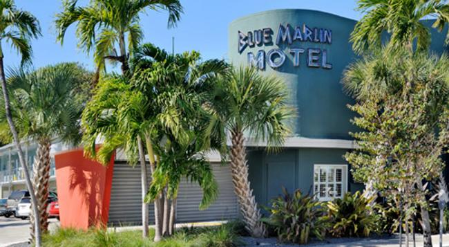블루 말린 모텔 - 키웨스트 - 건물