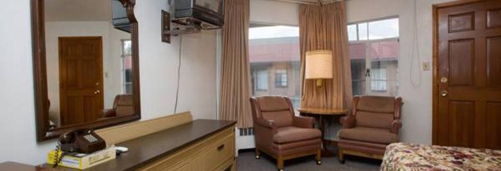 Stagecoach Motel Colorado Springs - 콜로라도스프링스 - 침실