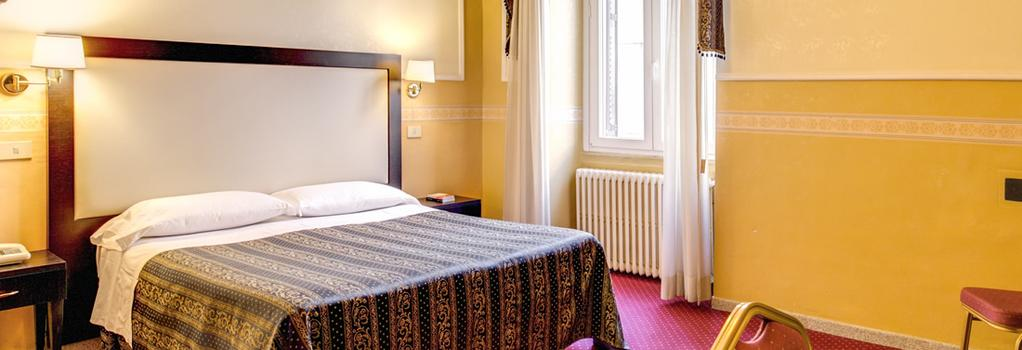 호텔 콘티넨탈레 - 로마 - 침실