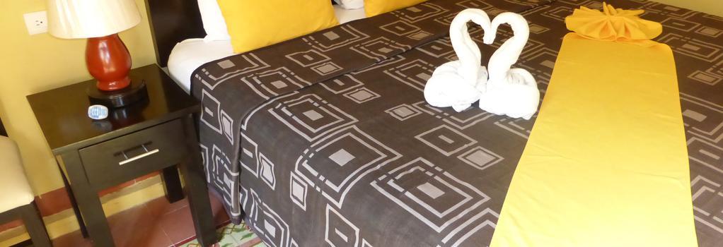호텔 델 페레그리노 - 메리다 - 침실