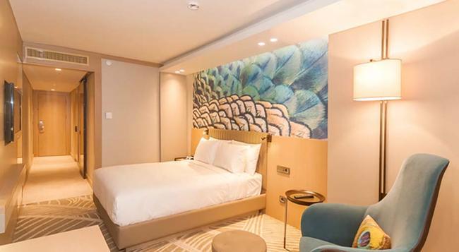 DoubleTree by Hilton Hotel Istanbul - Sirkeci - 이스탄불 - 침실