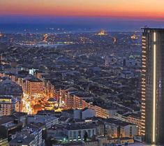 메리어트 이스탄불 호텔 시슬리
