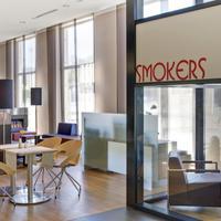 인터시티호텔 라이프치히 IntercityHotel Leipzig, Germany - Smokers Lounge
