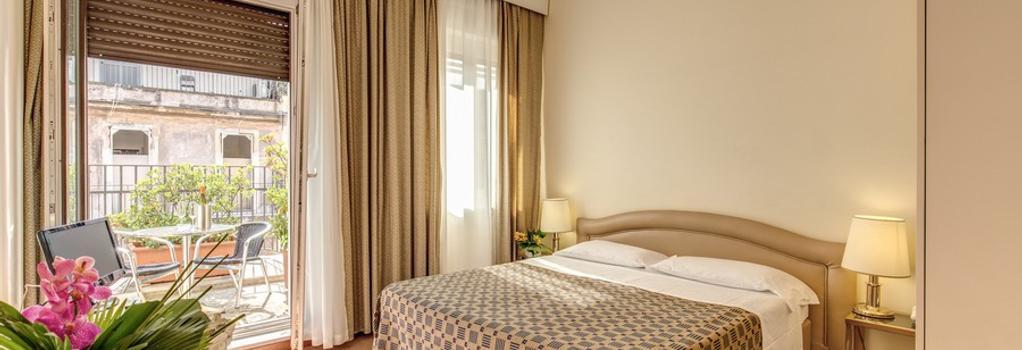 호텔 킹 - 로마 - 침실