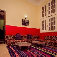 Horus Eye Hostel Living Area