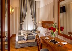 알베르고 오토센토 호텔 - 로마 - 침실