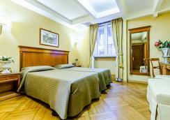 Hotel 2000 Roma - 로마 - 침실