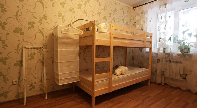 Good Hostel - 튜멘 - 침실