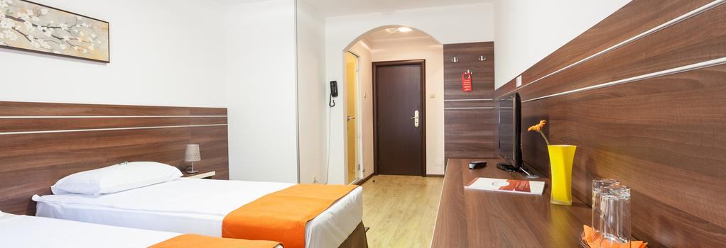 Hotel Citadella Bucuresti - 부쿠레슈티 - 침실