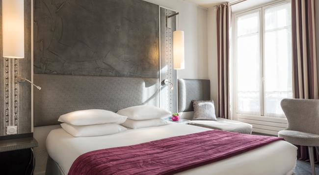 호텔 드 프랑스 인발리데스 - 파리 - 침실