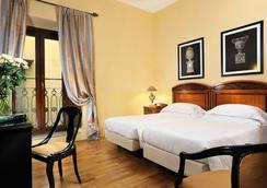 그랜드 호텔 카보르 - 피렌체 - 침실