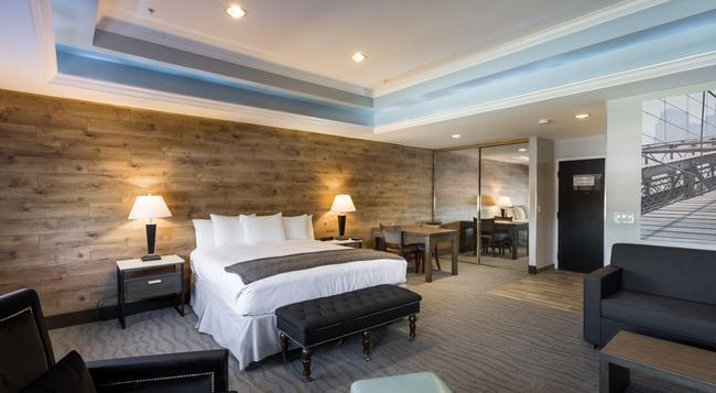 더 로우 호텔 - 새너제이 - 침실