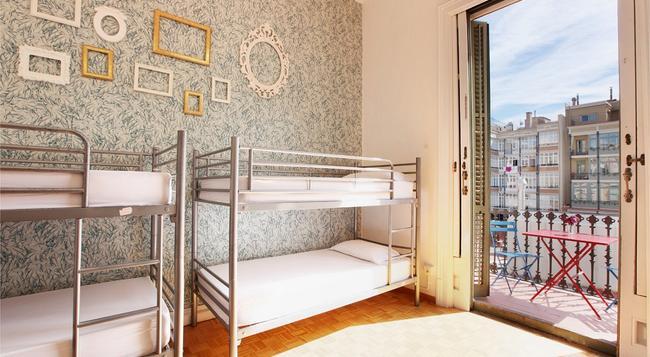 더 힙스텔 - 바르셀로나 - 침실