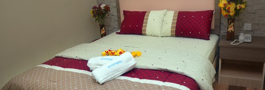 스카이 스타 호텔 - 세팡 - 침실