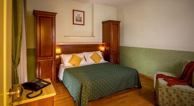 호텔 센트럴 로마 - 로마 - 침실