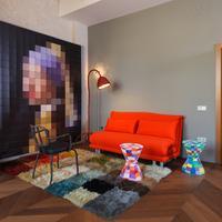Villa Perlov Living Area