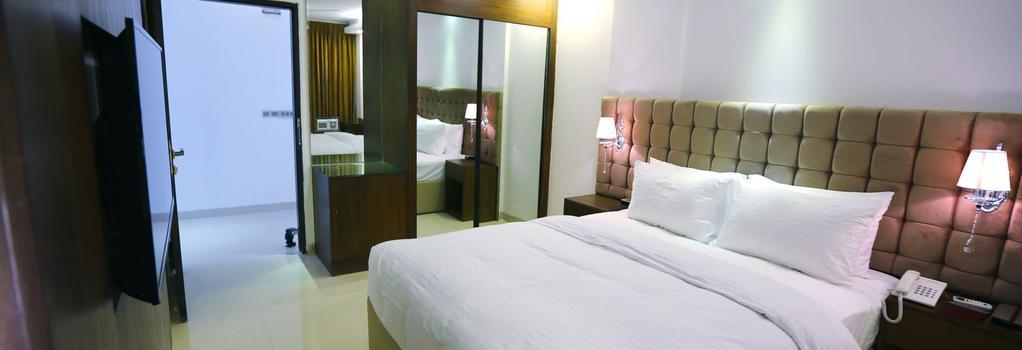 블로썸 호텔 Pvt. Ltd. - Dhaka - 침실